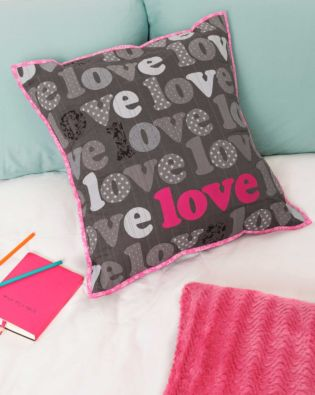 GO! Love Lines Pillow Pattern