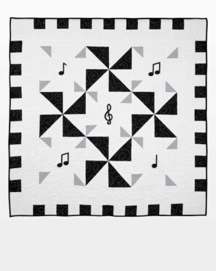 "GO! Qube 12"" Music to My Ears Quilt Pattern"