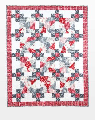 GO! Scandinavian Crazy Winter Quilt Pattern