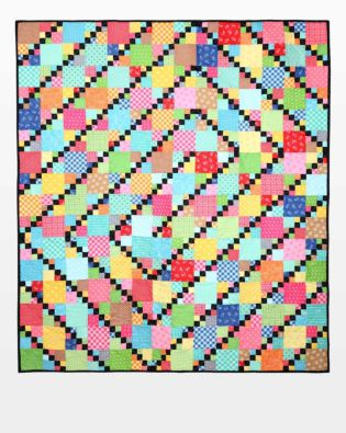 GO! Twists and Turns Quilt Pattern