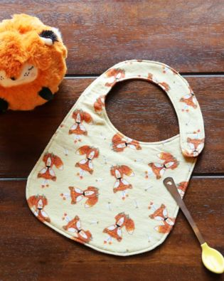 GO! Woodland Fox Baby Bib Pattern