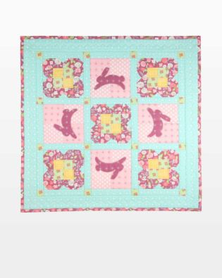 GO! Hopping Bunnies Table Runner Pattern