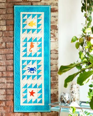 GO! Sea Life Medley Wall Hanging Pattern