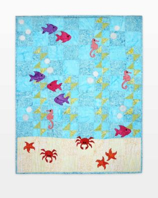 GO! Underwater Sea Adventure Throw Quilt Pattern