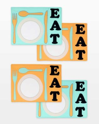 GO! EAT Placemats Pattern