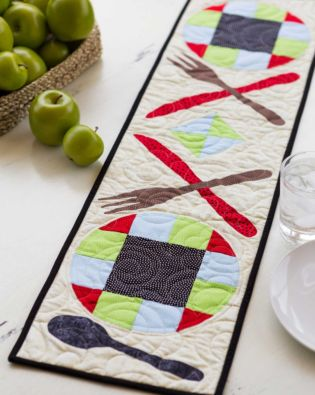GO! Tasting Pair Table Runner Pattern
