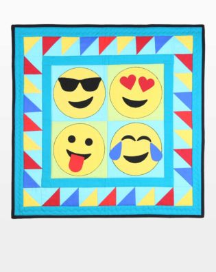 GO! Celebrate Emojis Wall Hanging Pattern