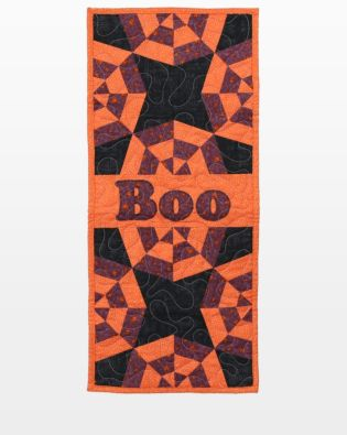 GO! Boo Spider Web Table Runner Pattern