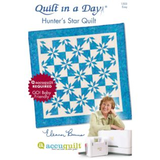 Quilt in a Day Hunter's Star Quilts Pattern Booklet by Eleanor Burns (PQ1503