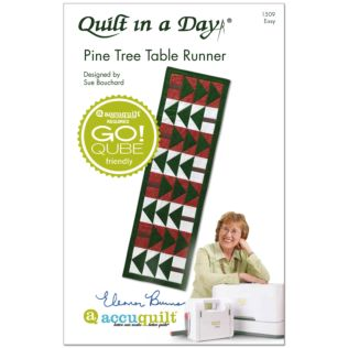 Quilt in a Day Pine Tree Table Runner Booklet (PQ1509)