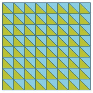 GO! Half Square Triangles to GO! Floor Pillow