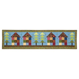 GO! Row House Bed Runner Pattern (PQ55971-10Q)