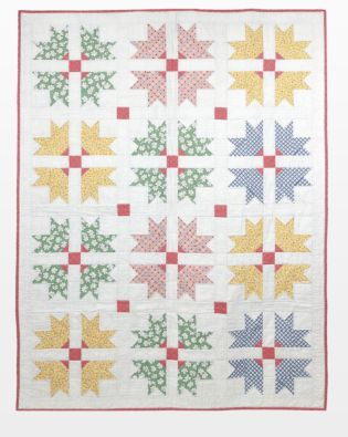 "GO! Qube 12"" Cross and Crown Quilt Pattern"