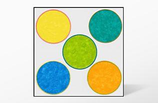 GO! Big Circles Set Embroidery Designs by V-Stitch Designs (VQ-BCE)