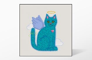 GO! Calico Cat Single #4 Embroidery Designs by V-Stitch Designs