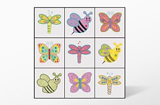 GO! Critters #1 Embroidery Designs by V-Stitch Designs