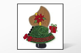 GO! Christmas Sunbonnet Sue Embroidery by V-Stitch Designs (VQ-CSB)