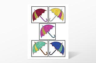 GO! Dancing Umbrella Embroidery by V-Stitch Designs (VQ-DUE)