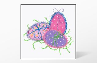 GO! Easter Egg Single #1 Embroidery Designs by V-Stitch Designs
