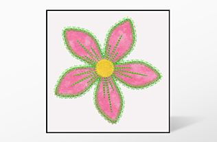 GO! Fun Flower Freebie Embroidery by V-Stitch Designs (VQ-FFF)