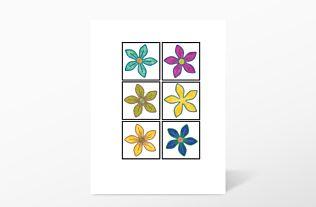 GO! Fun Flower Embroidery by V-Stitch Designs (VQ-FUFL)