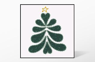 GO! Heather Feather Tree Single #2 Embroidery Designs by V-Stitch Designs (VQ-HFTS2)