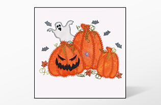 GO! Halloween Pumpkin Triple Embroidery Designs by V-Stitch Designs (VQ-HPT)
