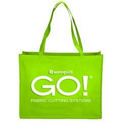 "GO! Green Shopping Tote Bag-16"" x 20"" (55479)"