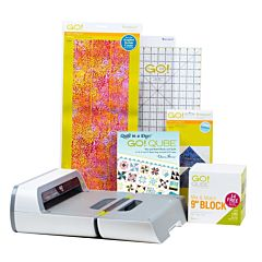 "GO! Big Just Add Fabric-9"" Block Starter Pack (56073)"