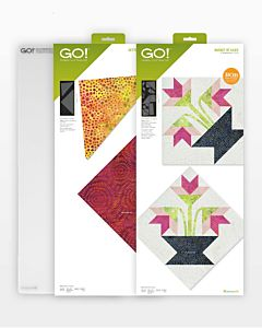 GO! Basket of Lilies & Setting Triangles Die Bundle