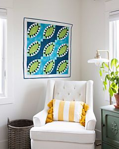 GO! Pickled Greens Throw Quilt Pattern
