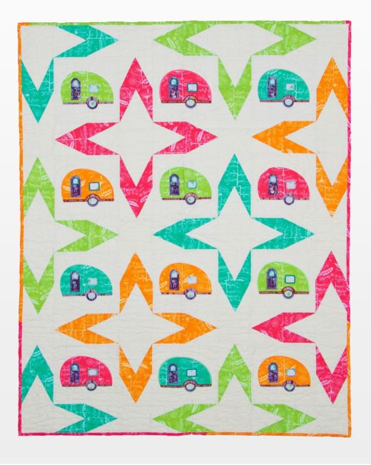 AccuQuilt GO! Going Camping Quilt Pattern