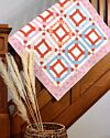 GO! Rolling Rings Throw Quilt Pattern