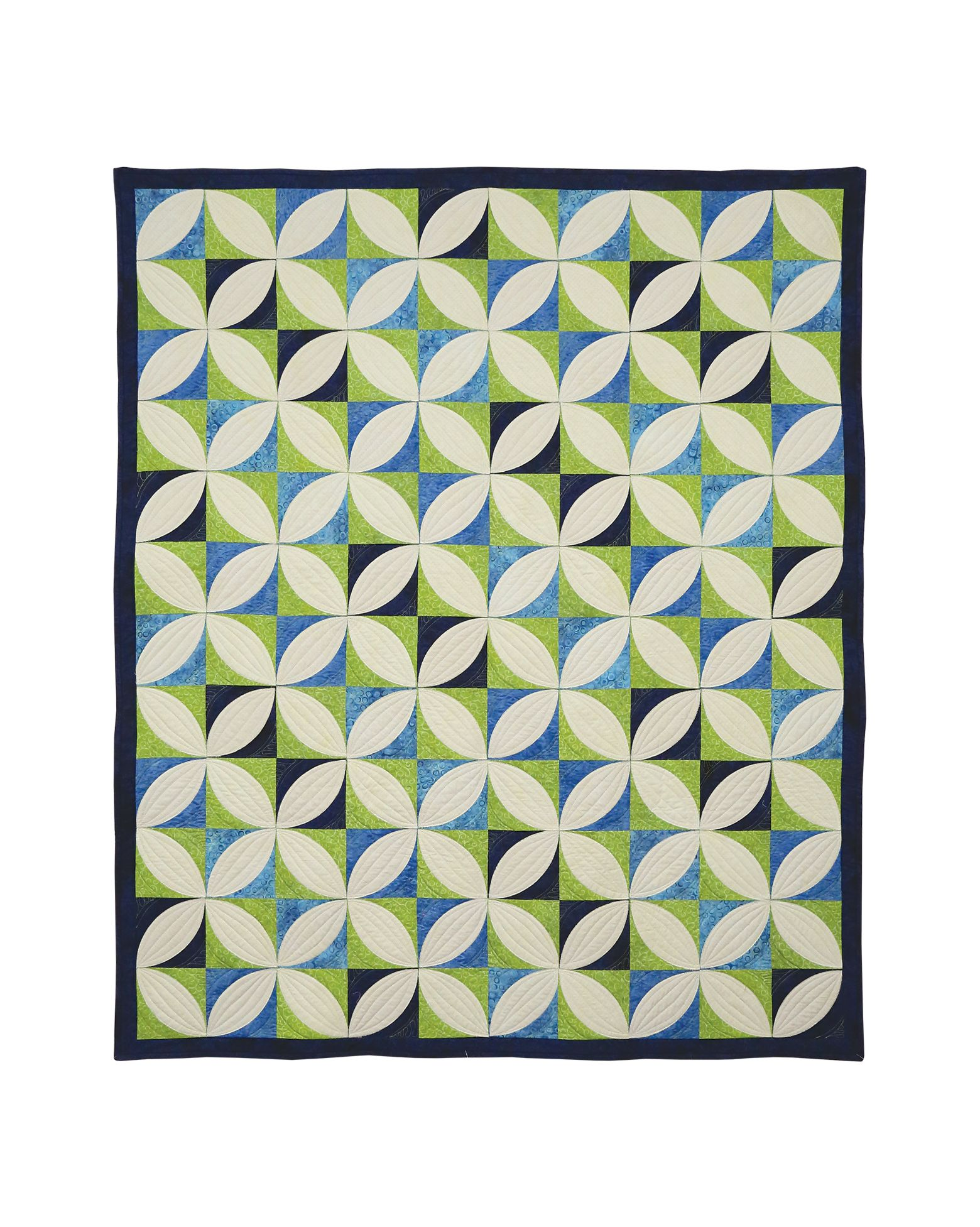 Orange Peel Zest Free Quilt Pattern