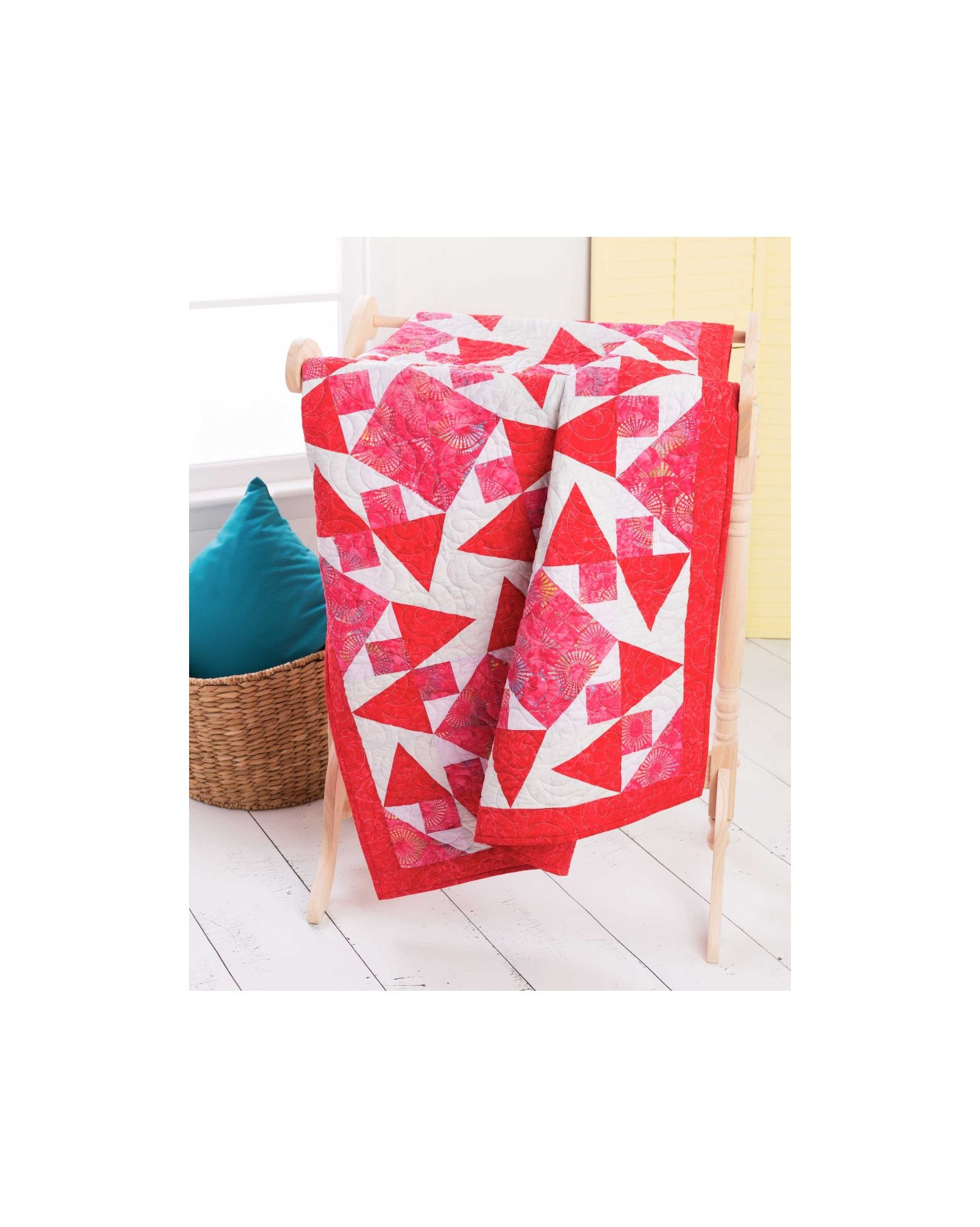 Qube 10 Chuckle Strawberry Quilt Pattern