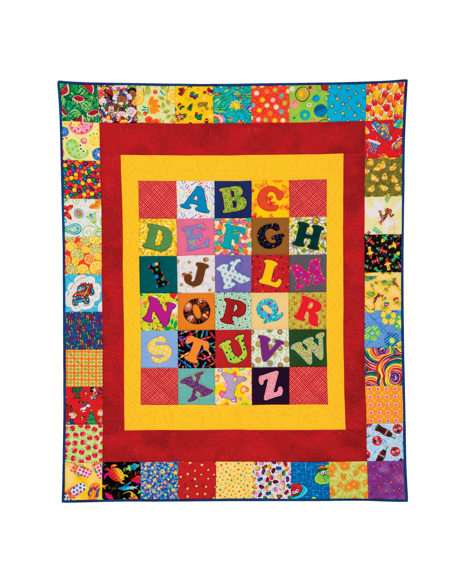 Free Alphabet Quilt Pattern Download