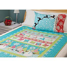GO! Winter Bliss Free Quilt Pattern