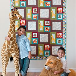 GO! Zoo Blocks FREE  Quilt Pattern