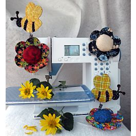 GO! Busy Bee Pin Cushion Pattern