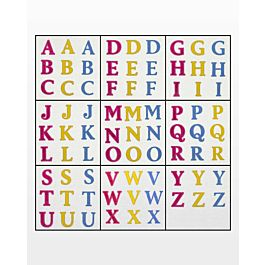 FREE GO! Classic 2 Alphabet Uppercase Embroidery Designs