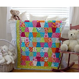 GO! Tumbler Free Baby Quilt Pattern