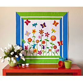 FREE GO! Butterfly Garden Quilt Pattern