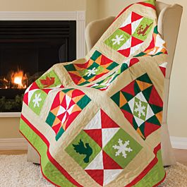 GO! Winters Here Free Sampler Quilt Pattern