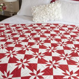GO! Festive Hunter Star Free Quilt Pattern