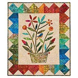 Go Rainbow Bouquet Wall Hanging Pattern By Edyta Sitar