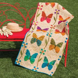 GO! Butterfly Patch Quilt Pattern by Edyta Sitar