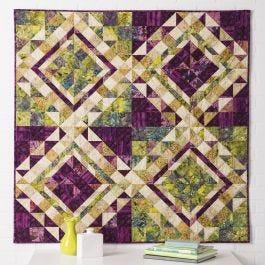 Go Qube 6 Quot Escher Quilt Pattern Accuquilt
