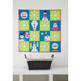 GO! Snow Much Fun Wall Hanging Pattern - Free Quilt Pattern