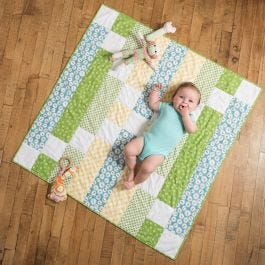 GO! X Marks the Spot FREE Baby Quilt Pattern