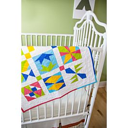 GO! Qube 6 Patch Party Free Sampler Quilt Pattern
